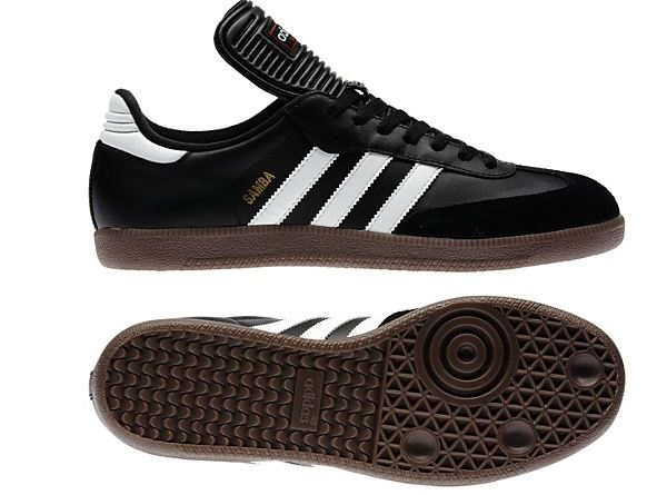 factory outlets running shoes new arrive Adidas Samba Classic Indoor Soccer Shoes