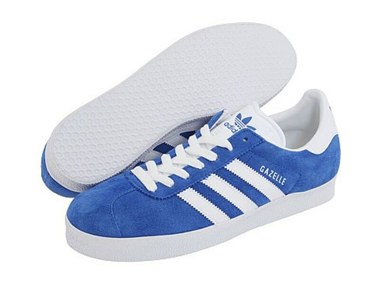 Adidas Originals Gazelle II Indoor Soccer Shoes (Royal Blue/White)