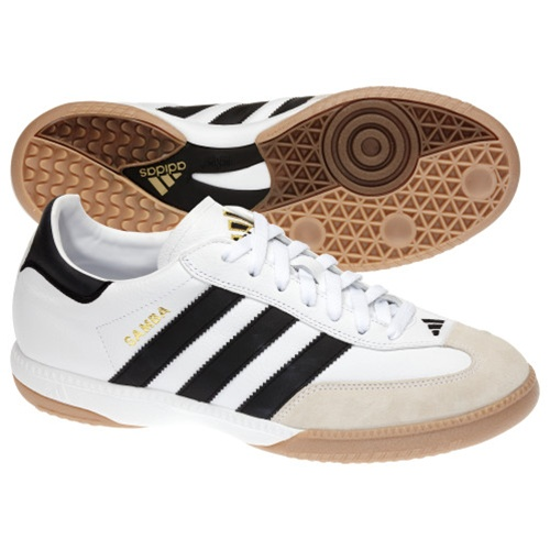 official shop presenting best wholesaler Adidas Samba Millennium Indoor Soccer Shoes (White)