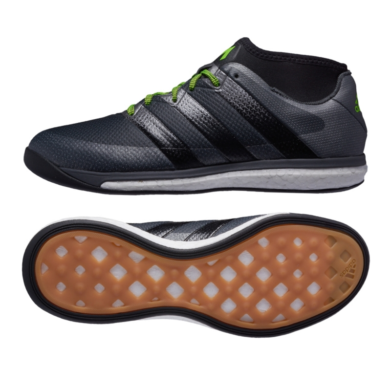 b2dd9acf4 SALE  69.95 Adidas ACE 16.1 Street Soccer Shoes (Black Night ...