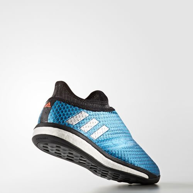 42b3864de Adidas Messi 16.1 Street Soccer Shoes in Blue and Dark Grey