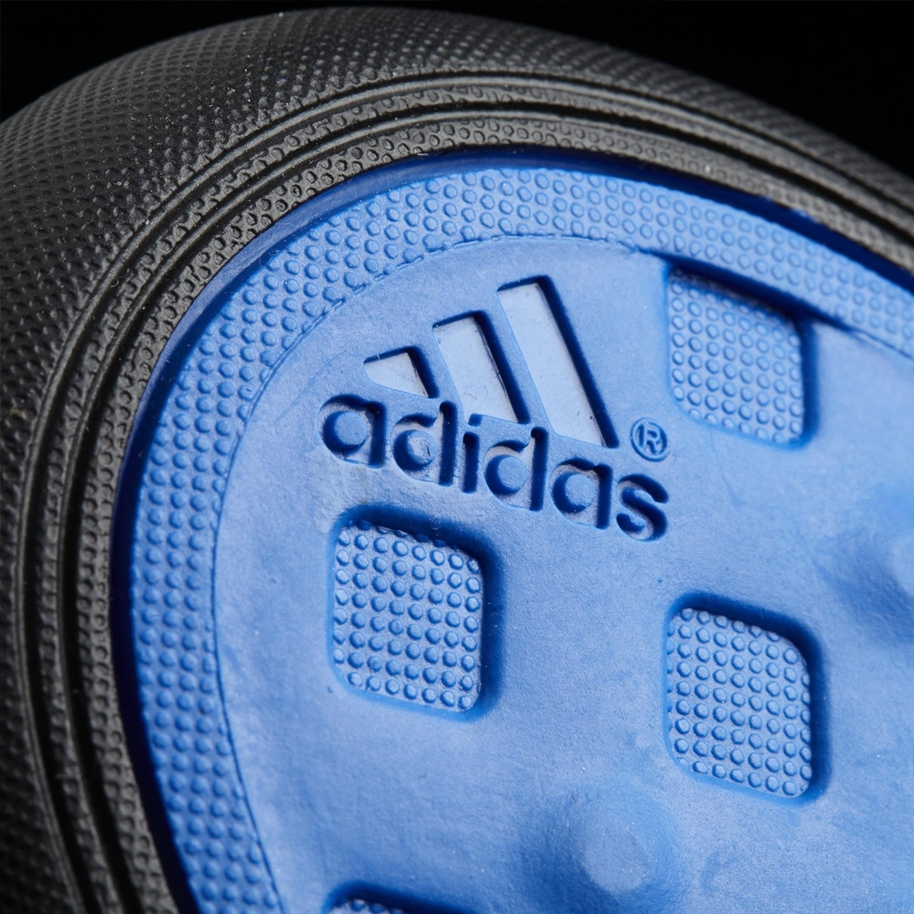 3adc5c2ba34 Adidas Messi 15.1 Boost Indoor Soccer Shoes (White Prime Blue Black)