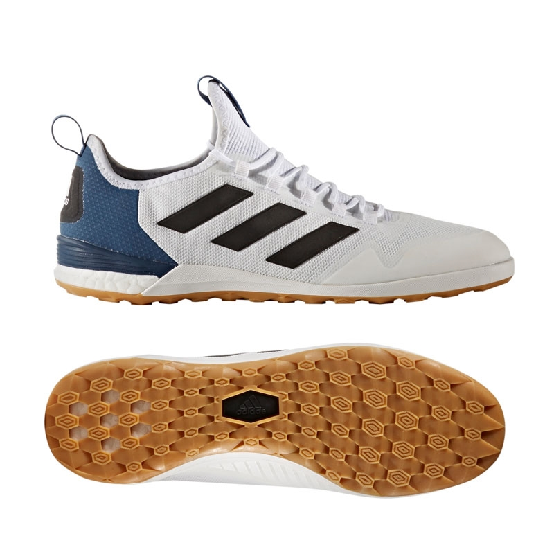 c494965ac ... discount code for adidas ace tango 17.1 ic indoor soccer shoes white  black mystery blue 2442a