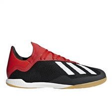 Adidas X Tango 18.3 Indoor Soccer Shoes (Core Black/Off White/Active Red) | Adidas BB9391 |