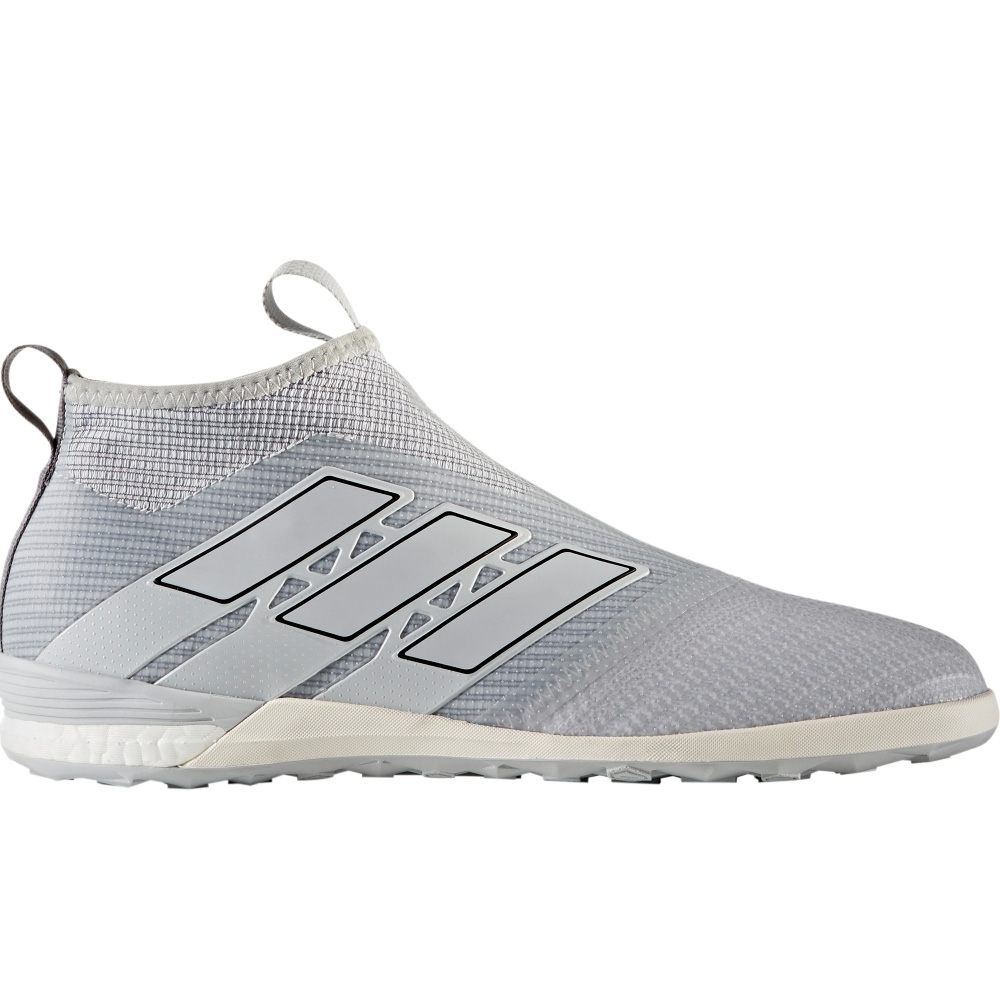low priced 49236 693d5 ... Adidas ACE Tango 17+ Purecontrol IC Indoor Soccer Shoes (Clear  GreyOnix) ...