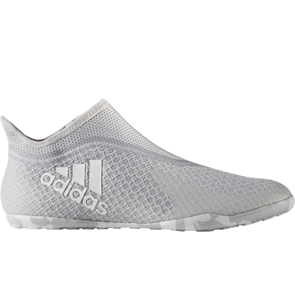 on sale e9339 efbb3 Adidas X 17+ PureSpeed Indoor Soccer Shoes (Clear Grey/White/Grey)
