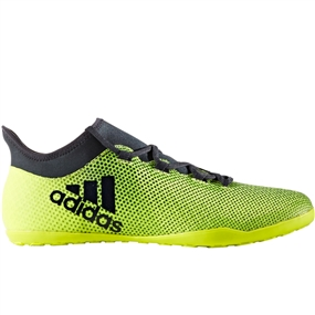 Adidas X Tango 17.3 Indoor Soccer Shoes (Solar Yellow/Legend Ink)