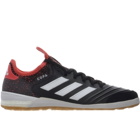 Adidas Copa Tango 18.1 IC Indoor Soccer Shoes (Core Black/White/Real Coral)