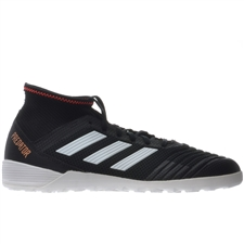 Adidas Predator Tango 18.3 Indoor Soccer Shoes (Core Black/White/Solar Red)