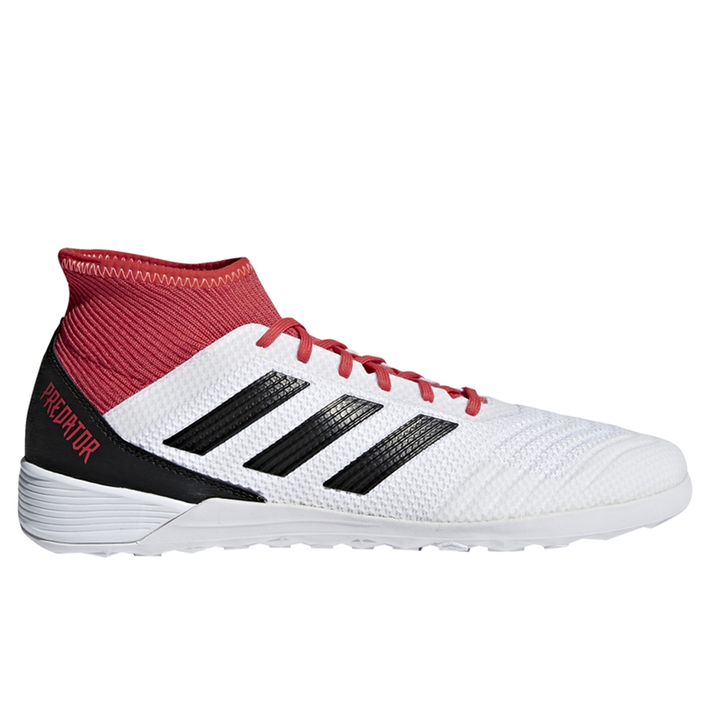 Adidas Predator Tango 18.3 Indoor Soccer Shoes (White/Core Black/Real  Coral) ...