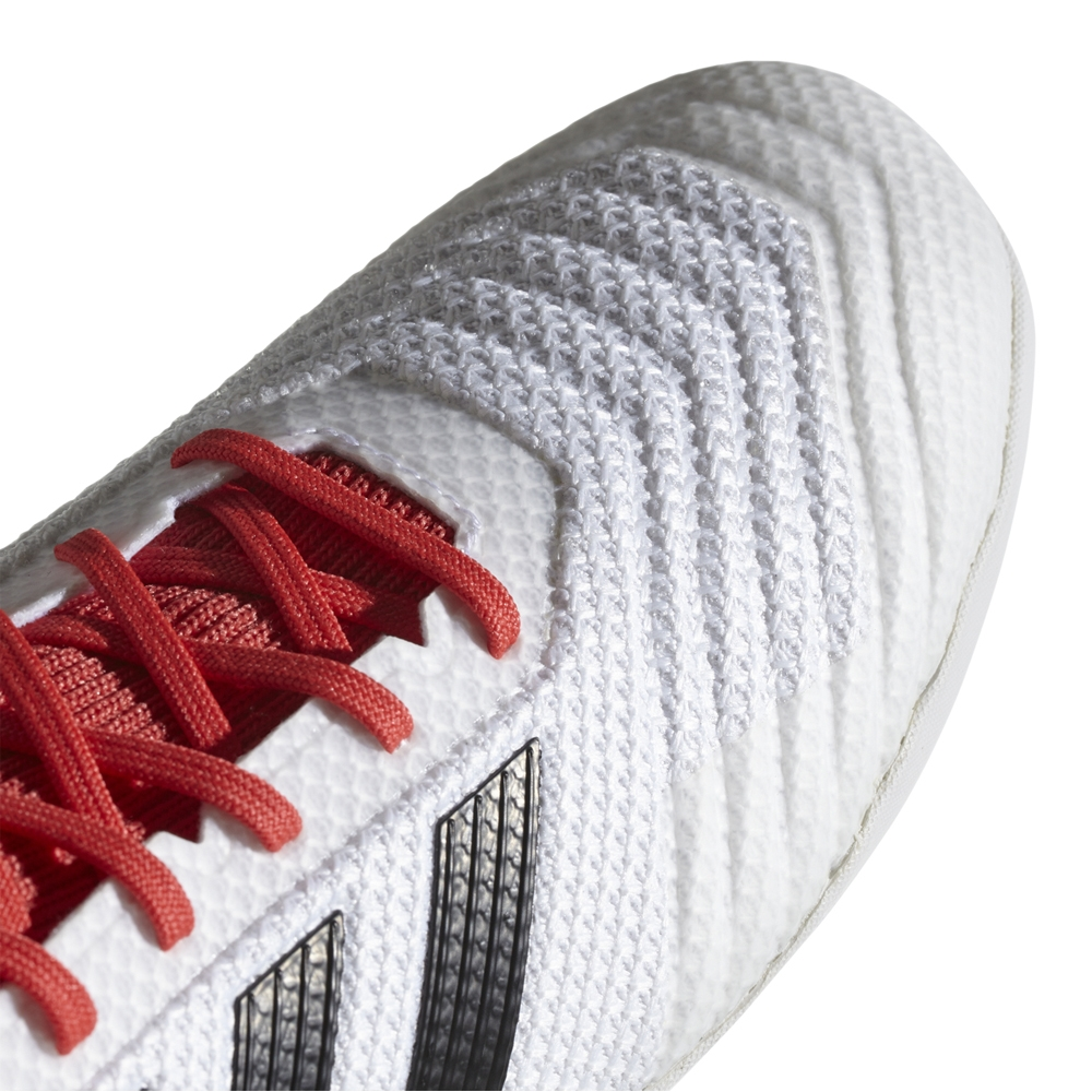 on sale ddd6e bfe5a Adidas Predator Tango 18.3 Indoor Soccer Shoes (White Core Black Real Coral)