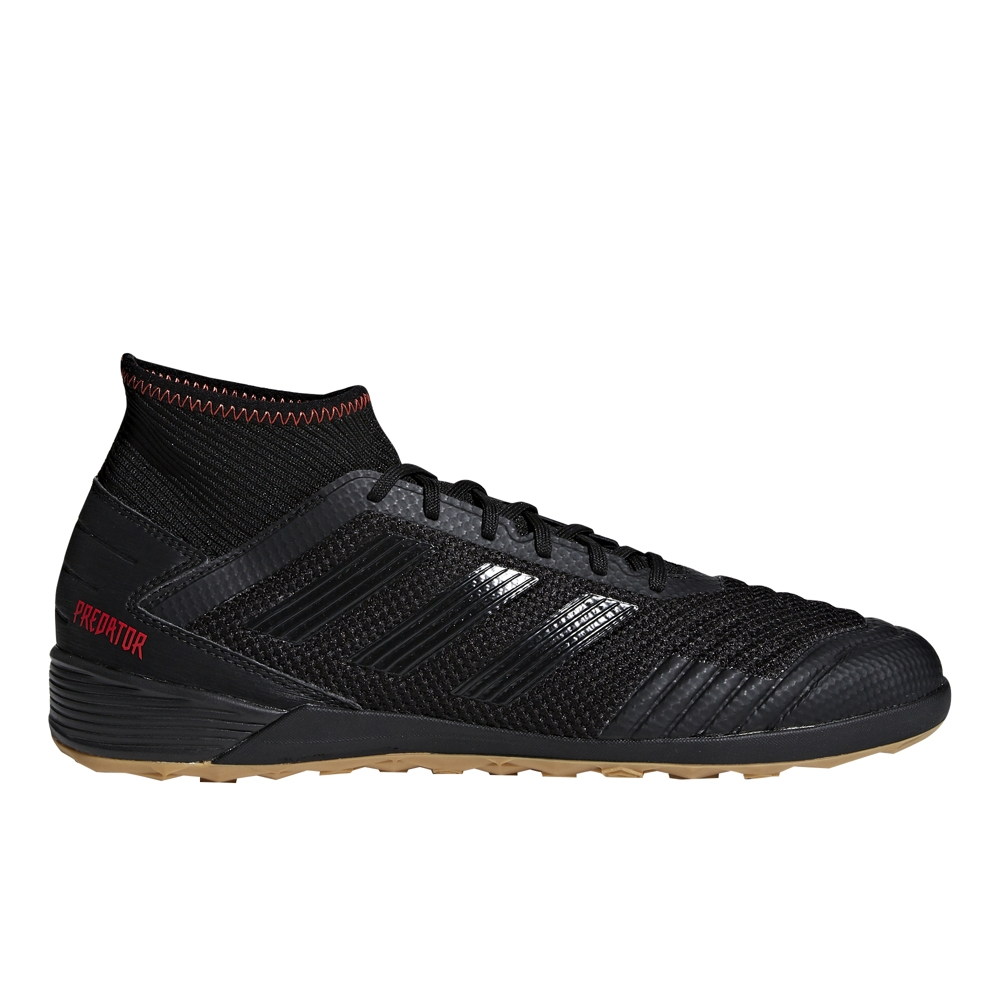 Adidas Predator 19.3 Indoor Soccer Shoes (Core Black Active Red ... 34120f13b