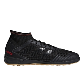 Adidas Predator 19.3 Indoor Soccer Shoes (Core Black/Active Red)