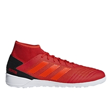 Adidas Predator 19.3 Indoor Soccer Shoes (Active Red/Solar Red/Core Black)