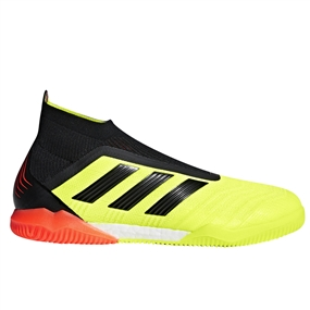 Adidas Predator Tango 18+ Indoor Soccer Shoes (Solar Yellow/Black/Solar Red)