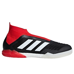 Adidas Predator Tango 18+ Indoor Soccer Shoes (Black/White/Red)