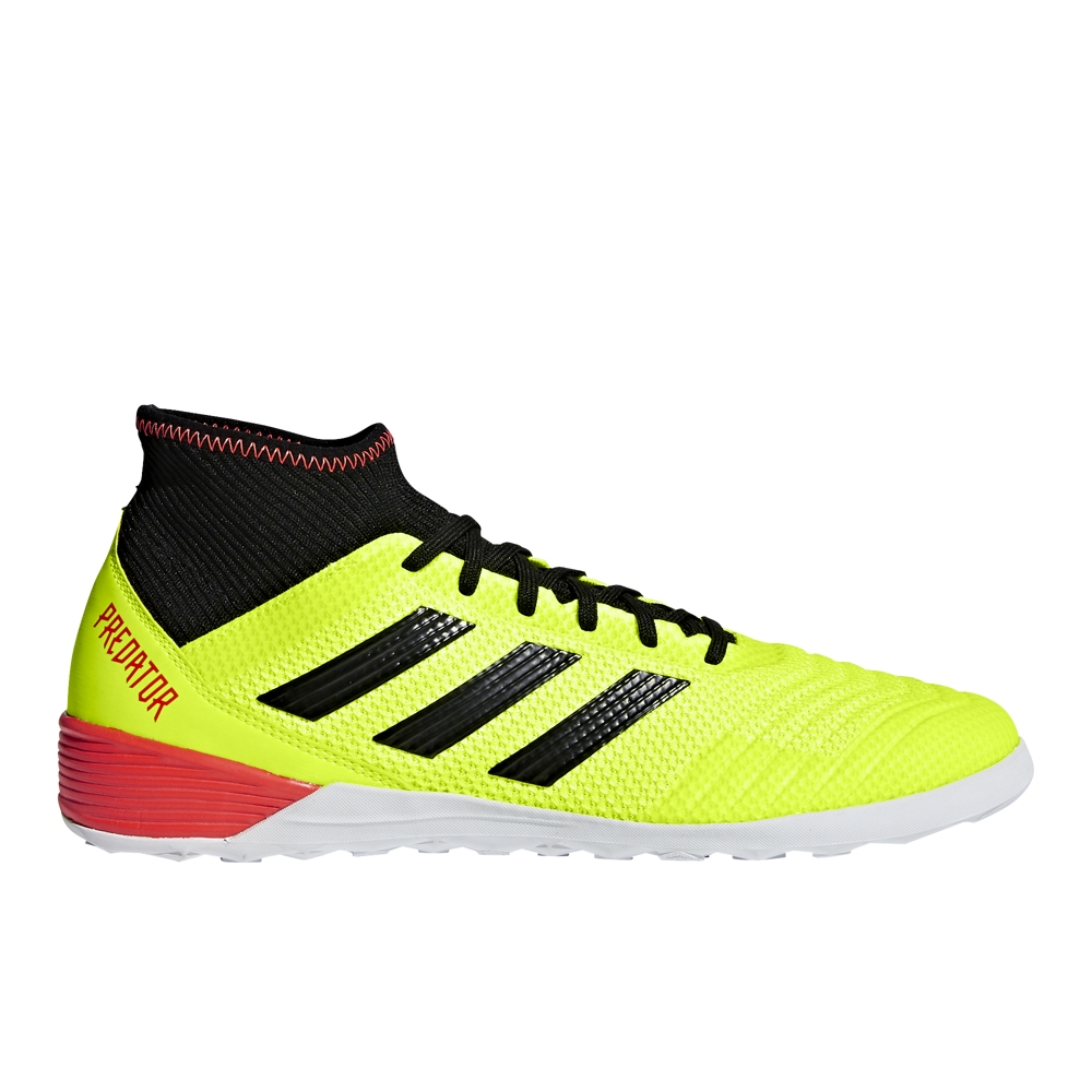 541049d13 Adidas Predator Tango 18.3 Indoor Soccer Shoes (Solar Yellow Black ...