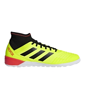 Adidas Predator Tango 18.3 Indoor Soccer Shoes (Solar Yellow/Black/Solar Red)