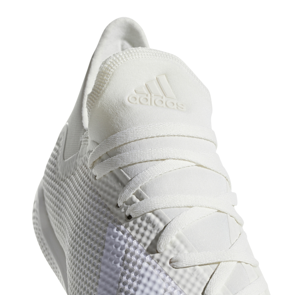 Adidas X Tango 18.3 Indoor Soccer Shoes (Off White White Black ... 2798df8d3