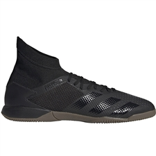 Adidas Predator 20.3 Indoor Soccer Shoes (Core Black/Dark Grey Heather/Solid Grey)
