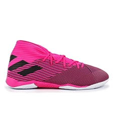 Adidas Nemeziz 19.3 Indoor Soccer Shoes (Shock Pink/Core Black)