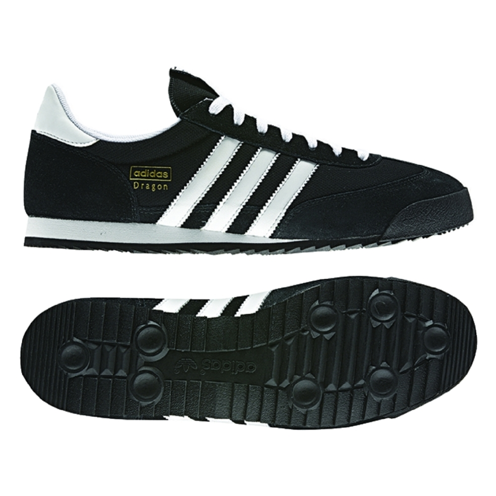 reputable site 3a4ba fe7c9  58.49   Indoor Soccer Shoes   Adidas Originals Dragon Indoor Soccer Shoe ( Black White Gold Metallic)