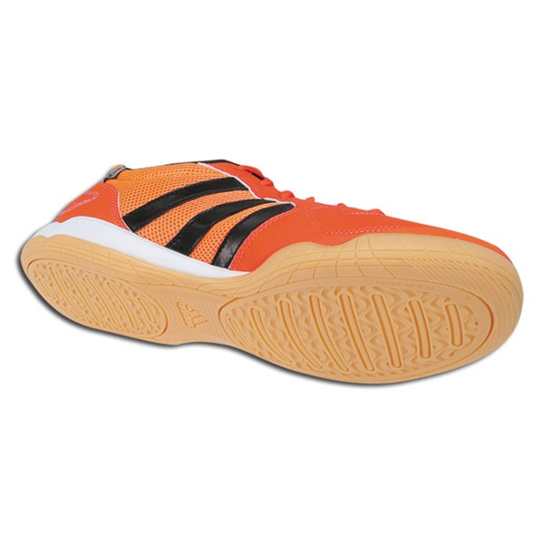36adb8087a3 Adidas Super Sala IX (Radiant Orange Black Metallic Silver) Indoor Soccer  Shoes