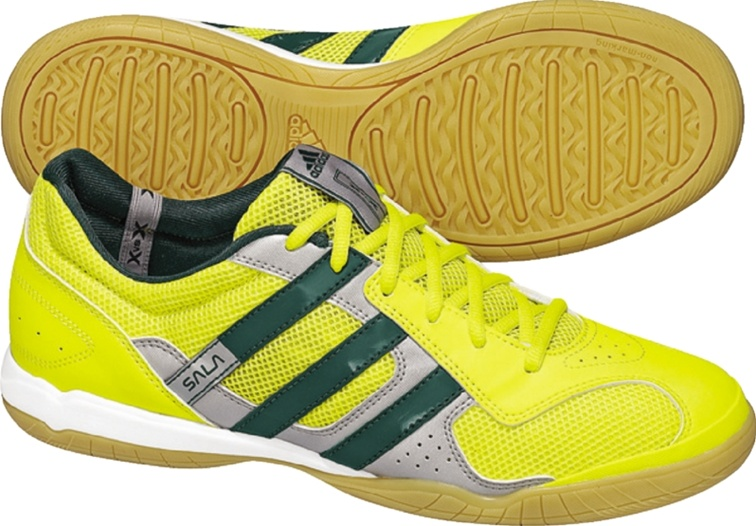 49.49 - Adidas Super Sala IX (LemonPeel Forest White) Indoor Soccer ... 42da9bee7160