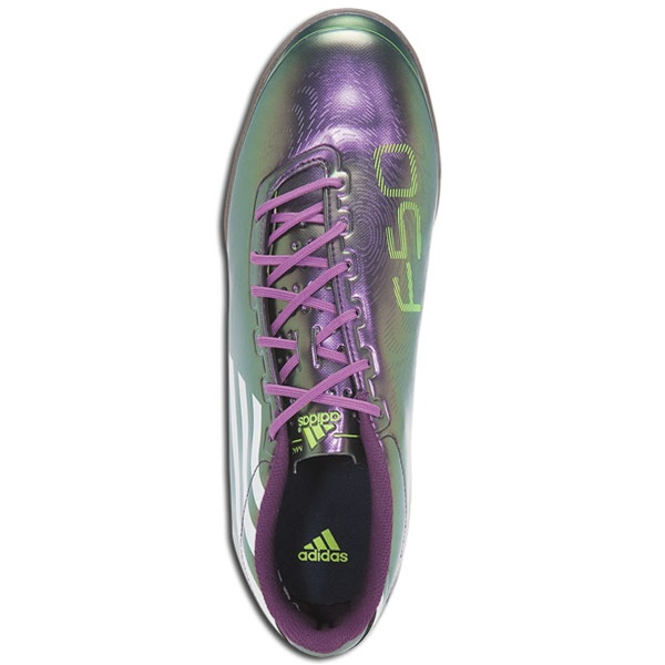 1dbf0dd87d5 Adidas F30 IN (Chameleon Purple White Electricity) Indoor Soccer Shoes