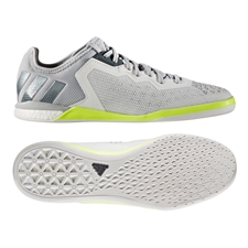 Adidas ACE 16.1 Court Soccer Shoes (Crystal White/Onix/Solar Yellow)