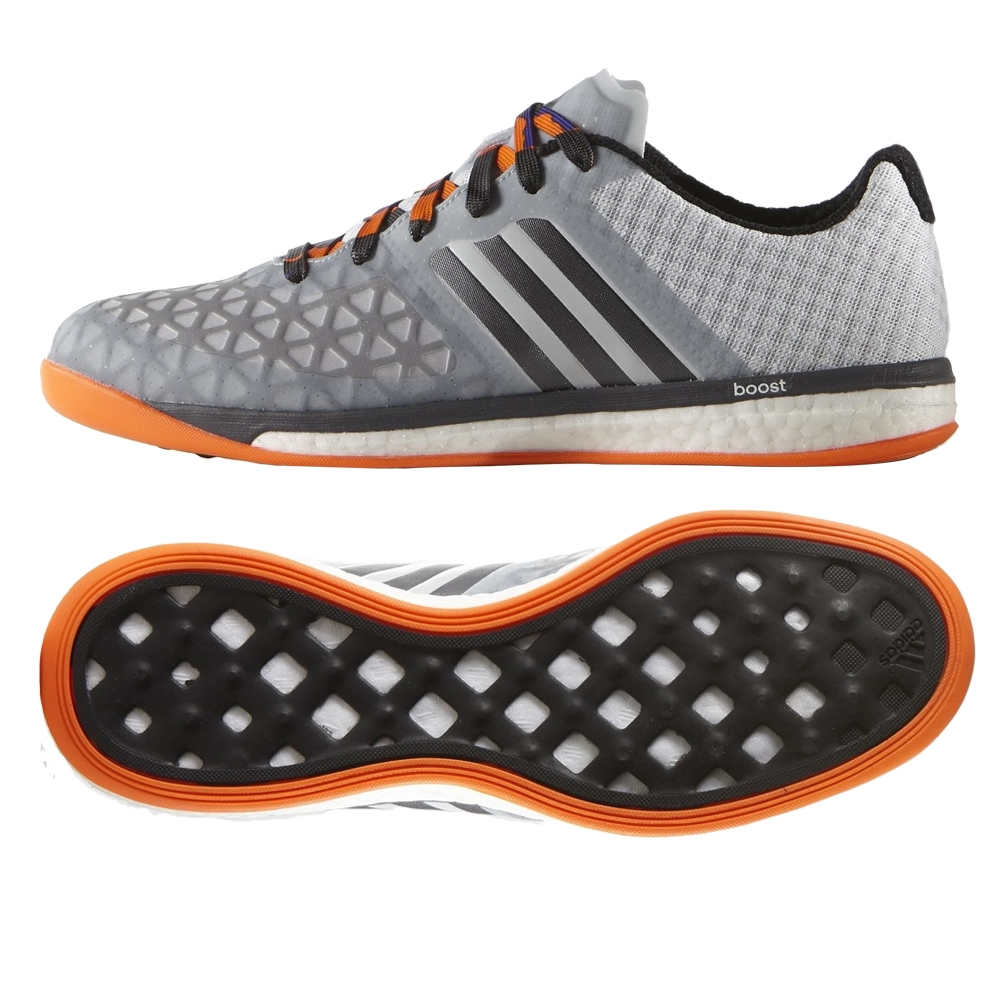 516ff48164 ACE 15.1 VS Boost Indoor Soccer Shoes (Clear Grey Night Metallic ...