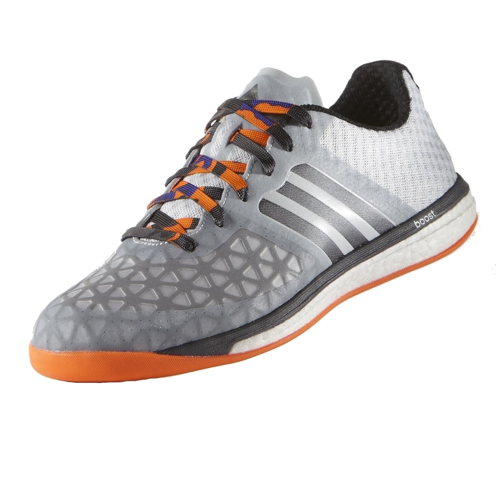 Adidas ACE 15 1 VS Boost Indoor Soccer Shoes Clear Grey Night Metallic Solar  Orange
