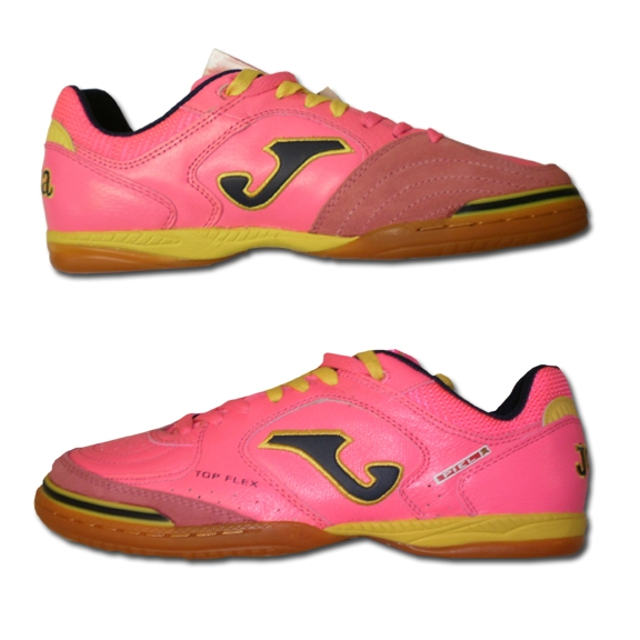 19159c5222 SALE $49.95| Joma Top Flex Indoor Soccer Shoes (Bold Pink/Yellow ...