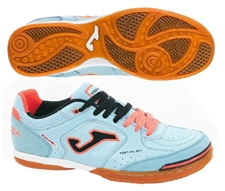 Joma Top Flex 304 Indoor Soccer Shoes (Blue/Orange)