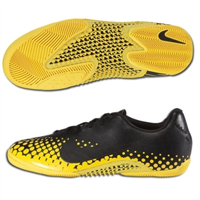 Nike5 Elastico Finale Indoor Soccer Shoes (Black/Tour Yellow/Black)