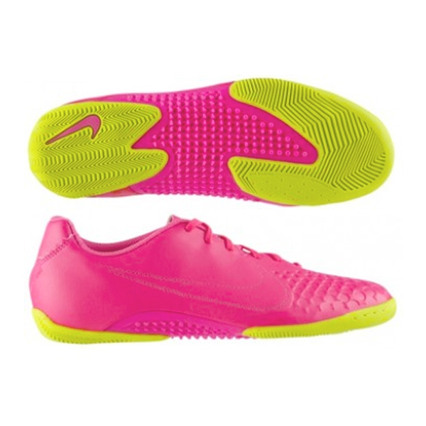162867e2d ... nike indoor soccer shoes 41520 667 nike5 elastico finale in pink and  yellow soccercorner