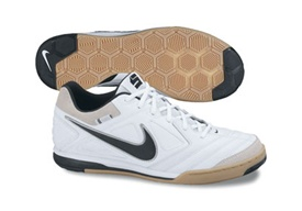 946ad6d48 Nike5 Gato Leather Indoor Soccer Shoes (White Black)