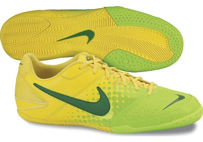 db836fb72 ... low cost nike5 elastico indoor soccer shoes chrome yellow electric green  pine green 4c68e 12de4 ...