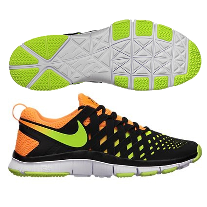 the best attitude d6fd7 ebcfe Nike Free Trainer 5.0 NRG Training Shoe (Bright Citrus/Black/Volt)