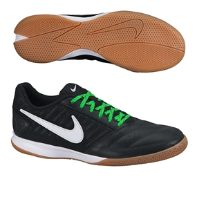 Nike FC247 Gato II Indoor Soccer Shoes (Black/Cool Grey/Gum Light Brown/White)