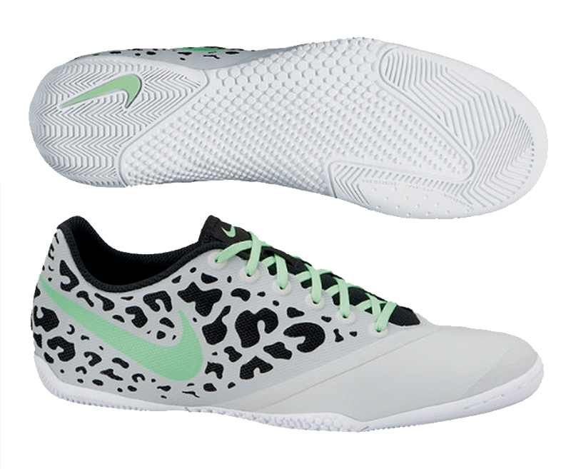 6c3b4a116c46 Nike FC247 Elastico Pro II Indoor Soccer Shoes (Neutral Gray Neo Lime White