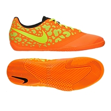 Nike FC247 Elastico Pro II Indoor Soccer Shoes (Bright Citrus/Laser Orange/Black/Volt)