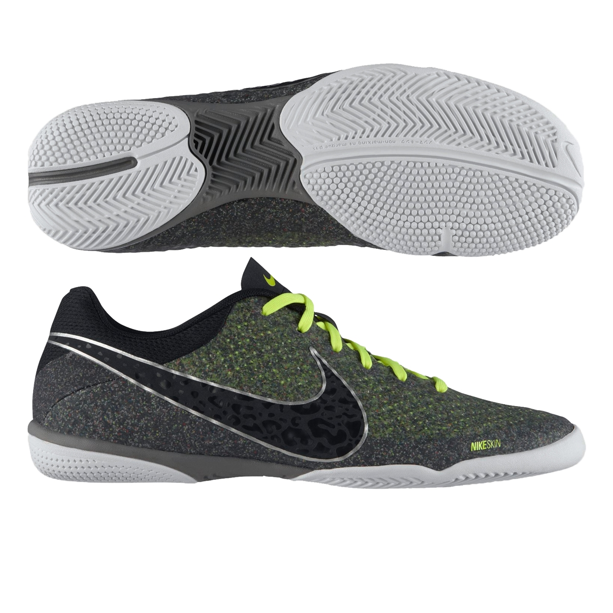 bd494fdc885 Nike FC247 Elastico Finale II Indoor Soccer Shoes (Wolf Grey Black ...