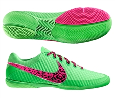 Nike FC247 Elastico Finale II Indoor Soccer Shoes (Fresh Mint/Neo Lime/Pink Flash)