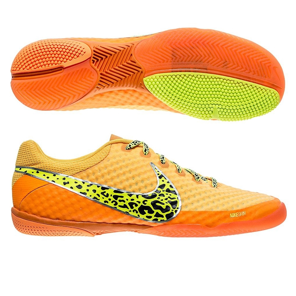 purchase cheap a00d1 4eb07 Nike 247 Elastico Finale II Indoor Soccer Shoes (Orange/Citrus/Volt)