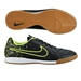 Nike Tiempo Genio IC Indoor Soccer Shoes (Black/Volt)