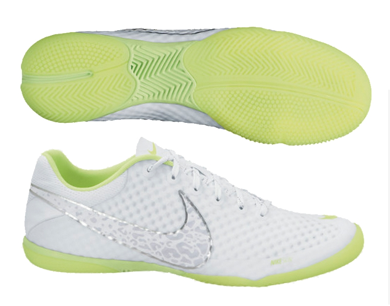 06c8676c084 Nike FC247 Elastico Finale II Reflective Indoor Soccer Shoes (Reflective  White Volt Metallic
