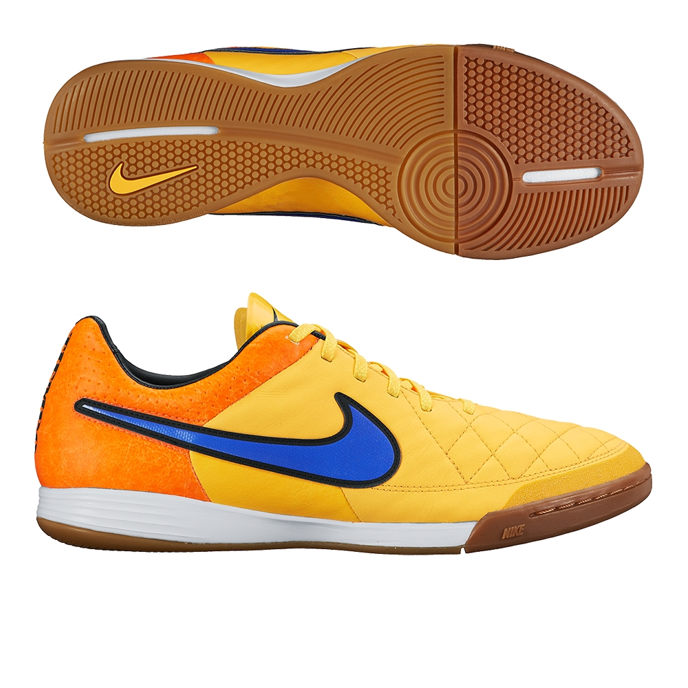 Nike Tiempo Legacy IC Indoor Soccer Shoes (Laser Orange Total Orange Volt  9878569d2