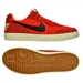 Nike NSW Tiempo Trainer Indoor Soccer Shoes (Chilling Red/Black/Ivory)