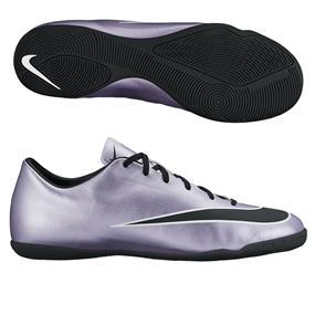 Nike Mercurial Victory V Indoor Soccer Shoes (Urban Lilac/Bright Mango/Black)